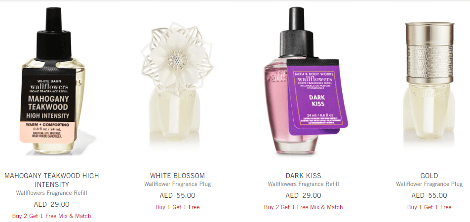 Bath and Body Works Promo Code For Wall Flowers