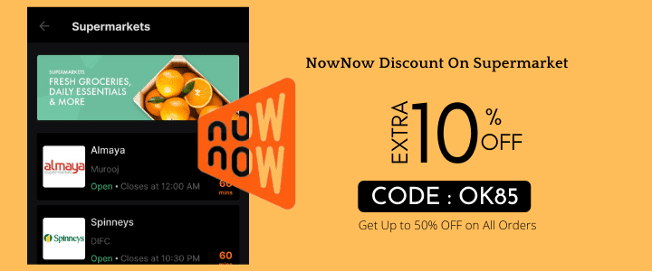 Nownow Coupon Code
